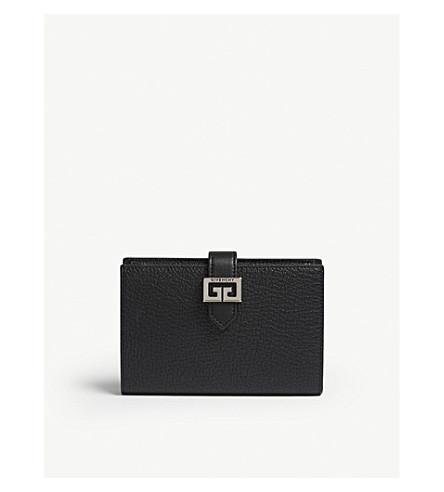 ... GIVENCHY  GG  logo medium leather wallet (Black. PreviousNext 2e17e78150388