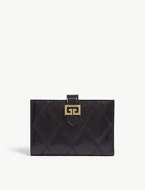 GIVENCHY GV3 medium quilted leather wallet 5094247bc7f5a