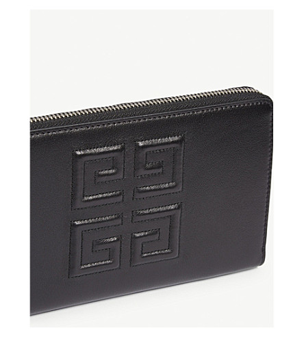 GIVENCHY Wallets LEATHER EMBELM WALLET