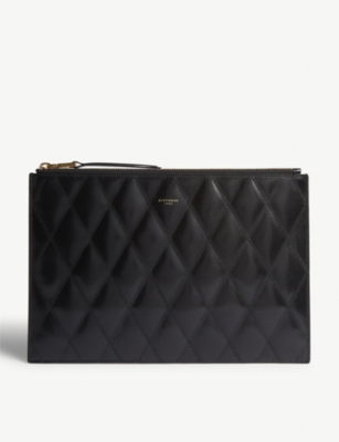 GIVENCHY Gv3 quilted pouch