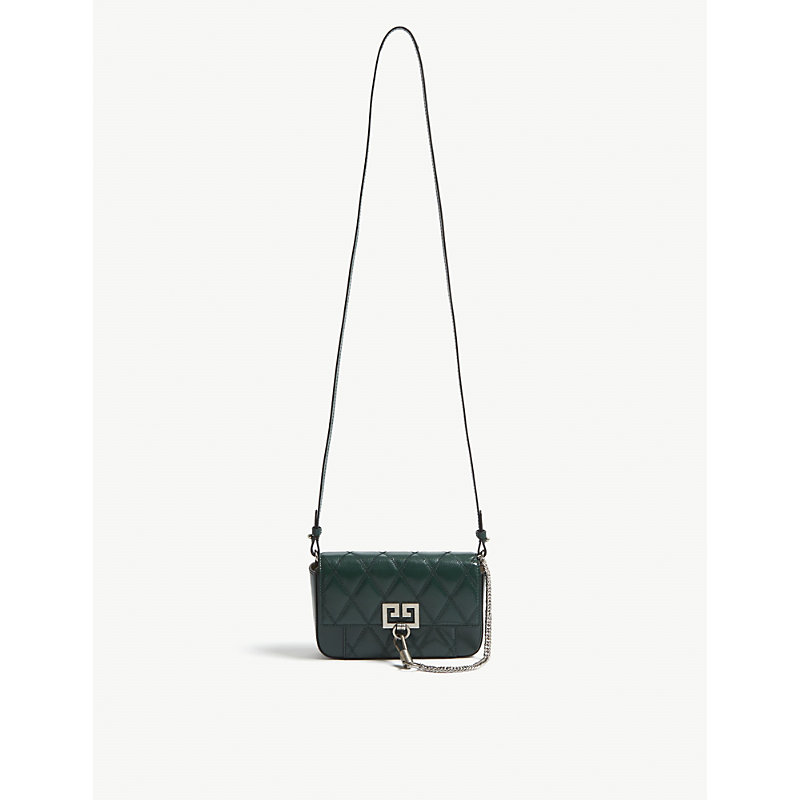 9e2dea2316d9 Givenchy Pocket Mini Bag In Green Forest