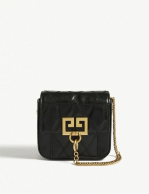 GIVENCHY Pocket Nano leather belt bag