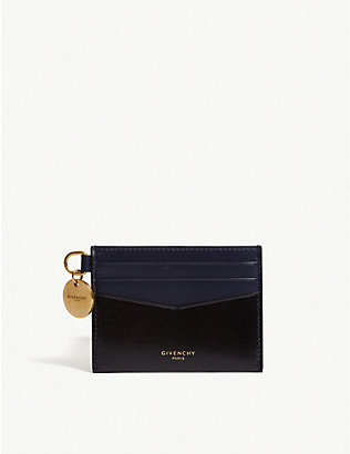 GIVENCHY: Edge leather card holder