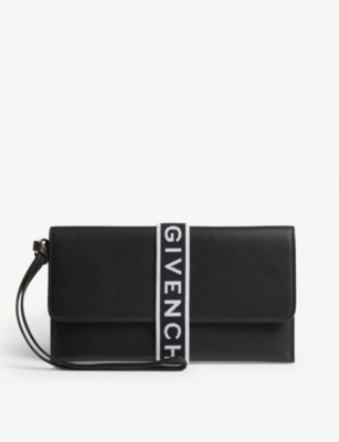 GIVENCHY 4G leather pouch