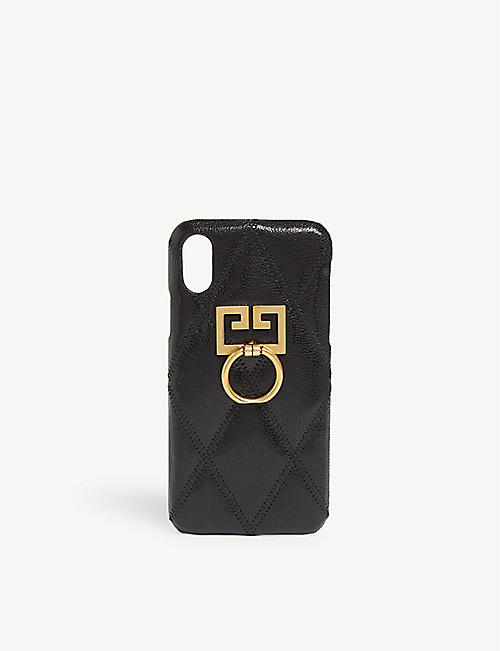 GIVENCHY GG logo iPhone X/Xs case