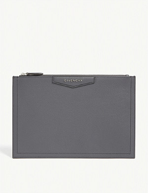 GIVENCHY Antigonia small leather pouch