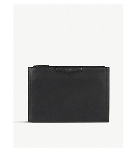 e0e607e62a65 ... GIVENCHY Antigona leather pouch (Black. PreviousNext