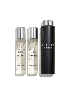CHANEL ALLURE HOMME SPORT Eau de Toilette Sport Spray 3 x 20ml