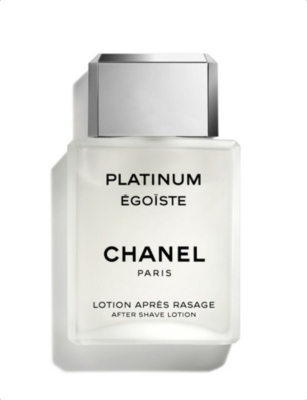 CHANEL PLATINUM ÉGOÏSTE After Shave Lotion 100ml