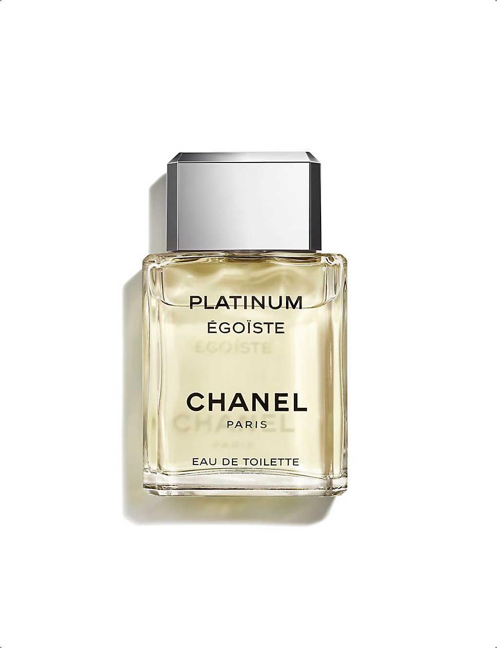 Chanel Platinum égoïste Eau De Toilette Spray 100ml Selfridgescom