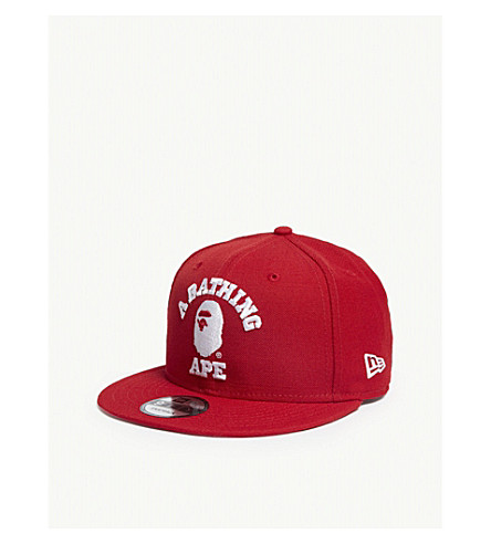 4812098ce6c6 ... A BATHING APE College New Era snapback cap (Red. PreviousNext