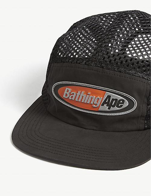 d7abb3ff25c0c A BATHING APE Branded mesh cap. Quick Shop