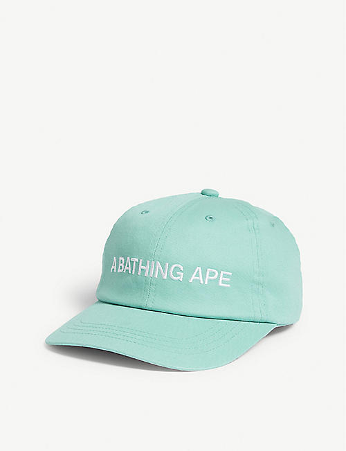 3b24bf132cd A BATHING APE Branded cotton cap