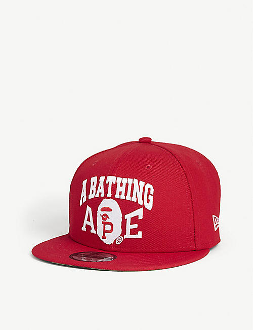 A BATHING APE New Era cotton cap