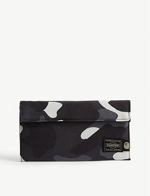 A BATHING APE Porter 1st Camouflage-print cotton wallet