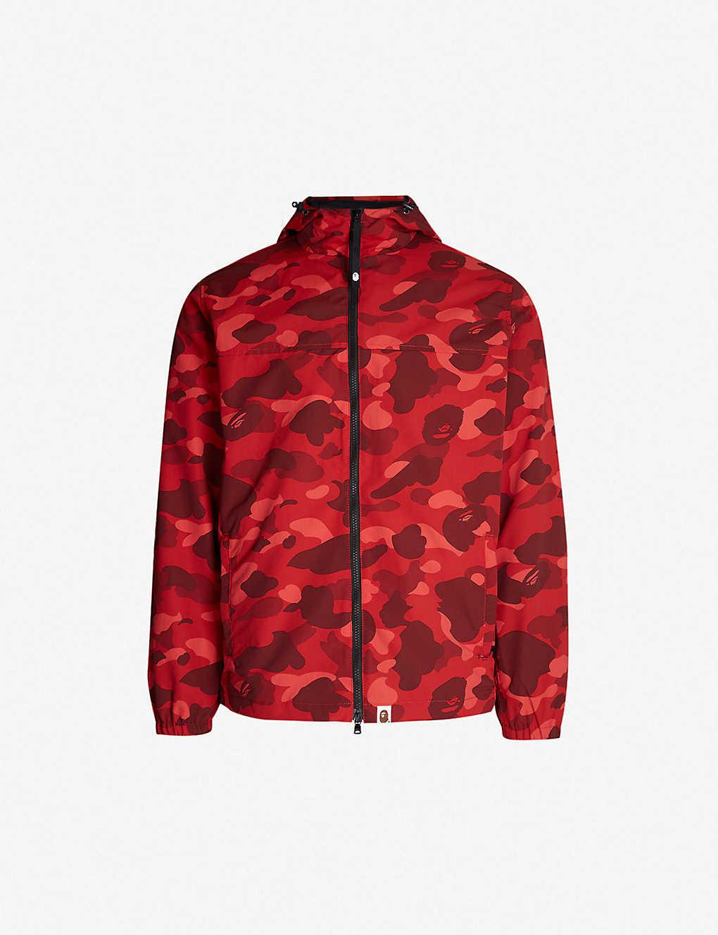 da6b2d399c8 A BATHING APE - Camouflage-print shell jacket