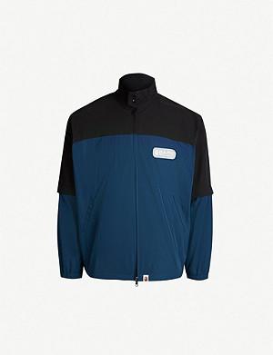 b45942cf999 A BATHING APE - Shark hooded shell jacket