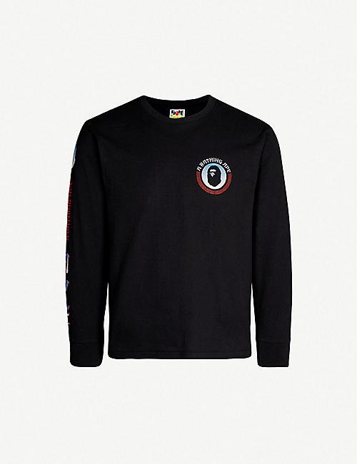 Mens Designer T-shirts - Gucci T-shirts   more   Selfridges 44e23c927d5