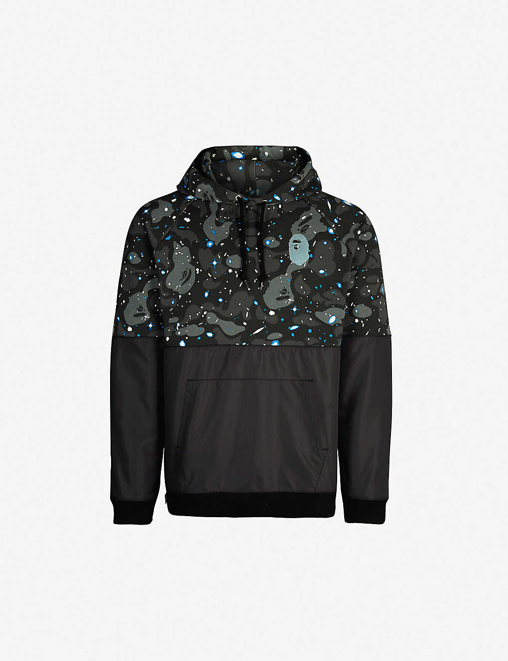 ae34ce3b A BATHING APE - Space Camouflage cotton-jersey and shell hoody ...
