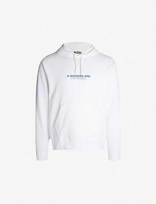e0450c81951c A BATHING APE Graphic cotton-blend hoody