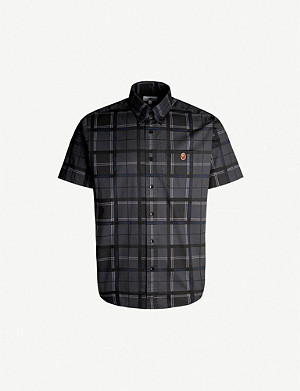 A BATHING APE Checked regular-fit cotton shirt