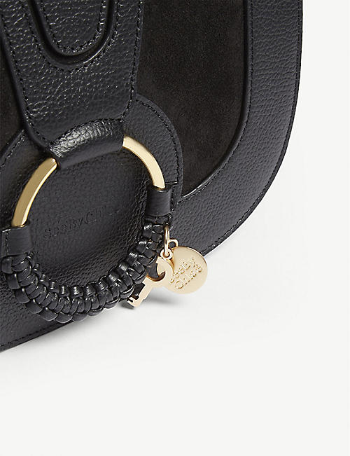 SEE BY CHLOE Hoop leather saddle bag
