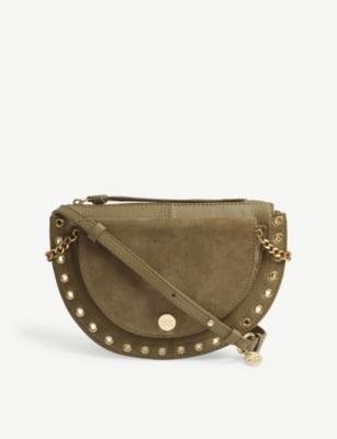 44a91e837c SEE BY CHLOE - Kriss medium suede shoulder bag | Selfridges.com