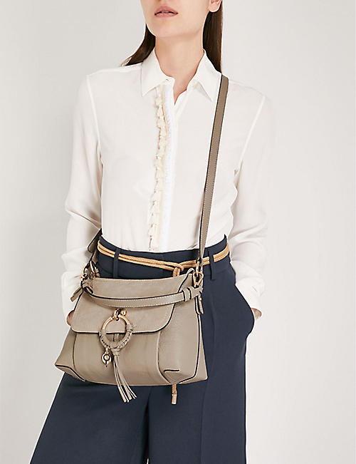 SEE BY CHLOE Joan leather-suede shoulder bag