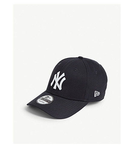 New Era New York Yankees 9forty Baseball Cap In Navy/optic White