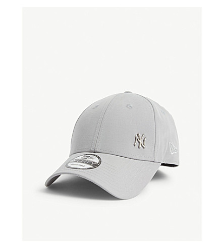 New Era 9forty Baseball Cap In Gray