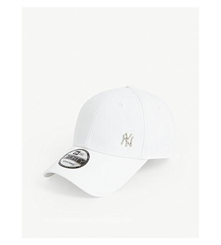 New Era 9forty Baseball Cap In Optic White