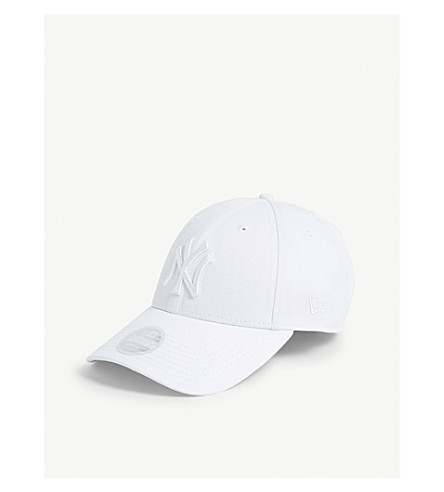 New Era New York Yankees 9forty Baseball Cap In Optic White