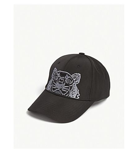 48dd5bb8771 ... KENZO Tiger logo baseball cap (Black. PreviousNext