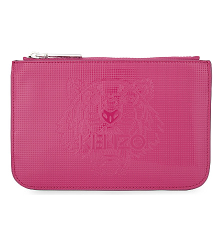 Kenzo  Tiger head pouch