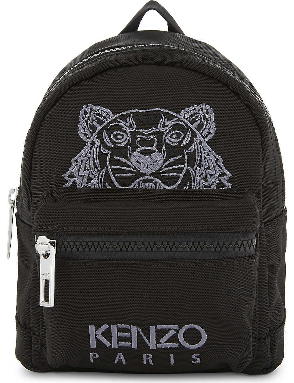 cdae1bba9 KENZO - Embroidered tiger mini backpack | Selfridges.com