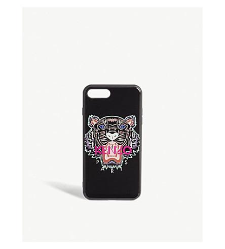 94a9d799d6 KENZO - Tiger motif acrylic iPhone 7/8 plus case   Selfridges.com
