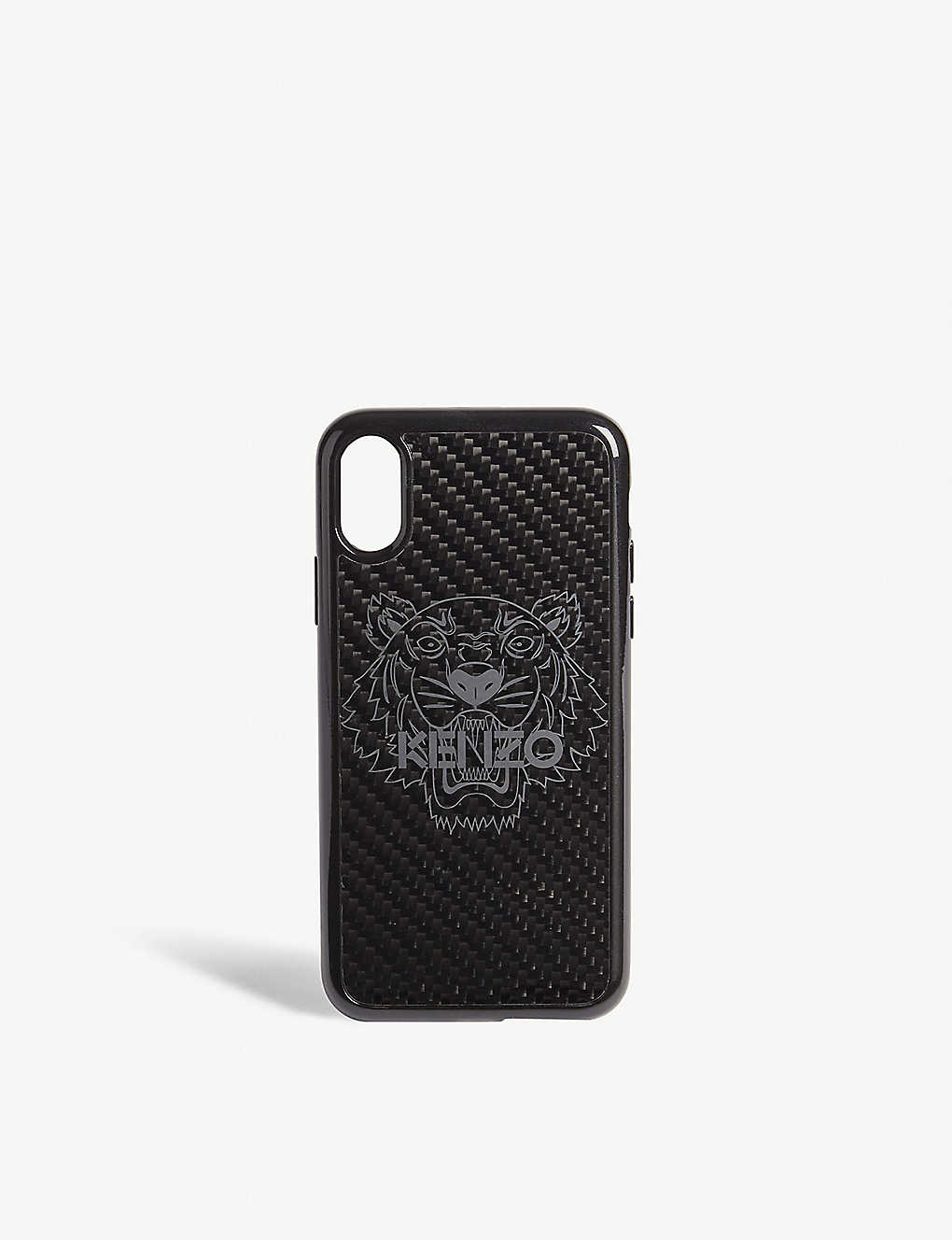 best sneakers 1e52e 1616f KENZO - Tiger holographic carbon fibre iPhone X case | Selfridges.com