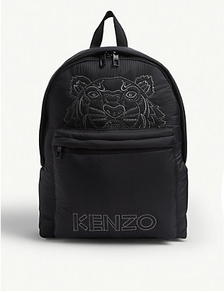 KENZO: Kampus large nylon backpack