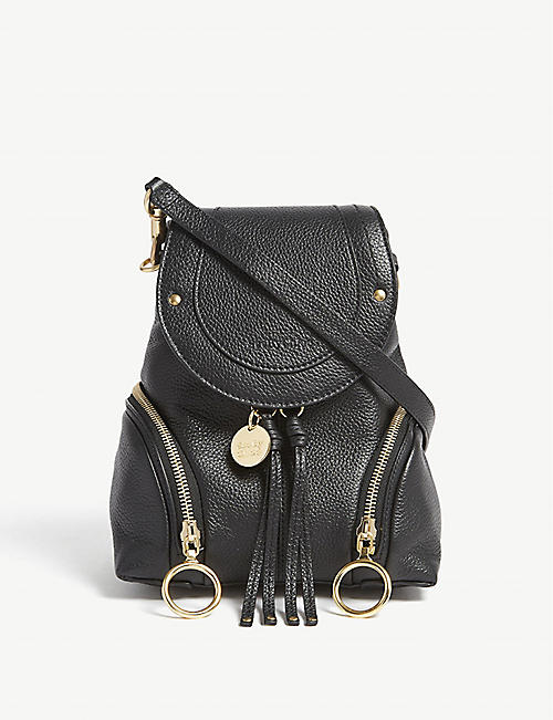21d9689573 SEE BY CHLOE Small Olga leather backpack