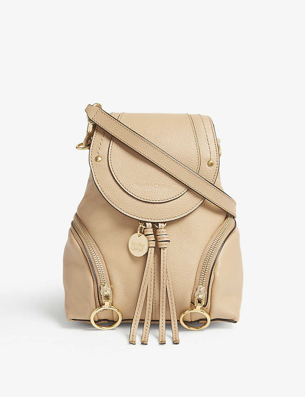 6934c32f SEE BY CHLOE - Small Olga leather backpack | Selfridges.com