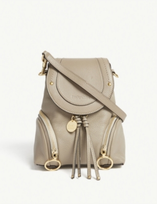 SEE BY CHLOE Small Olga leather backpack