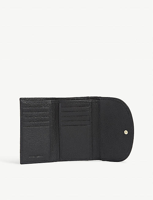 SEE BY CHLOE Hana grained leather wallet
