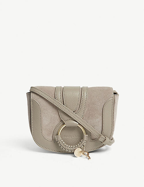 SEE BY CHLOE: Hanna leather cross-body bag