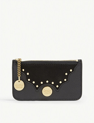 SEE BY CHLOE Nick leather card holder