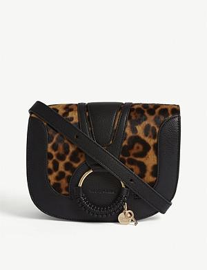 dceb4e6061 SEE BY CHLOE - Tony leather shoulder bag | Selfridges.com