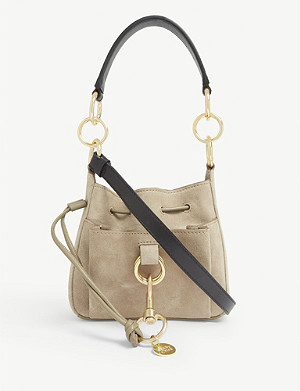 SEE BY CHLOE Tony suede shoulder bag