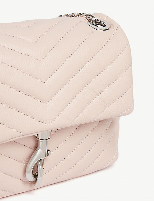 REBECCA MINKOFF Edie quilted leather cross-body bag