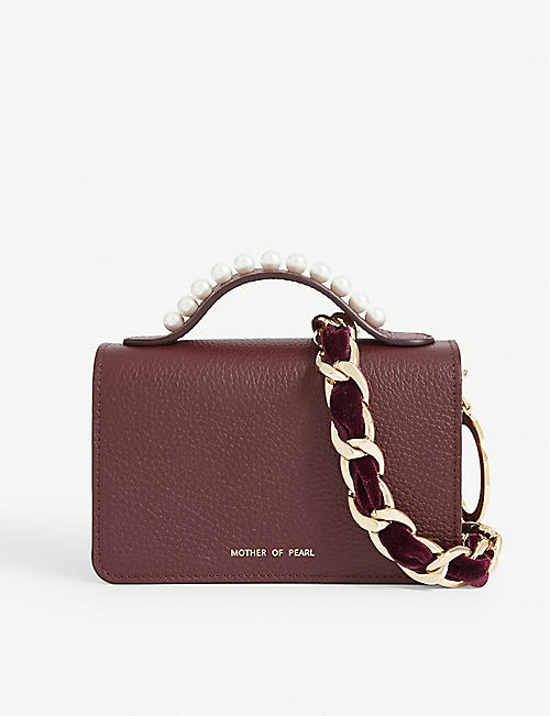 MOTHER OF PEARL Jude cross-body bag