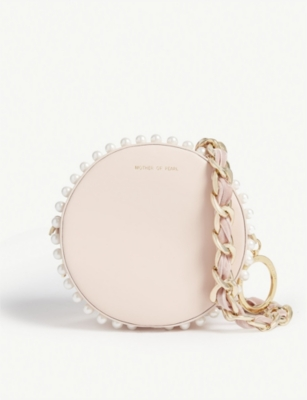 MOTHER OF PEARL Rena circle bag