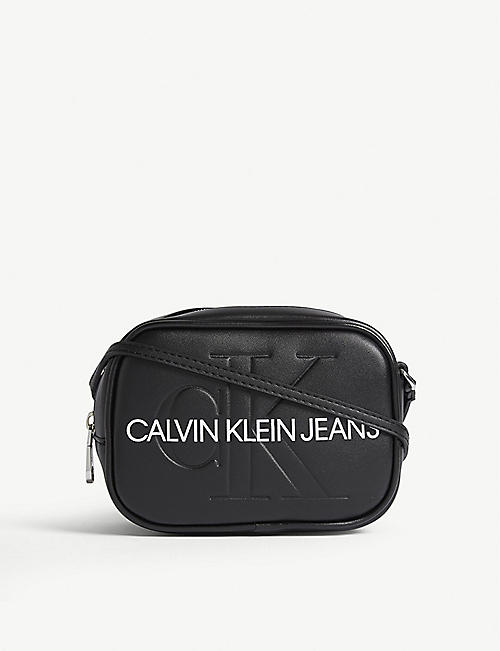 CALVIN KLEIN JEANS Leather camera bag